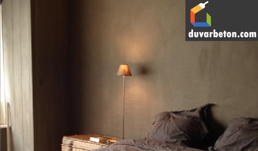 yatak-odasi-beton-gorunumlu-duvar