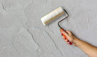 Brüt beton duvar sıva uygulaması