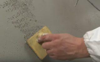 Açık renk betonart sıva