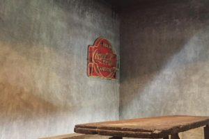 Brütalist stil duvar dekoru