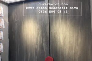 Duvarlarda brüt beton modası
