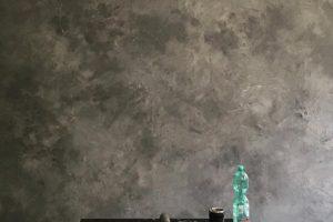 Brüt beton duvar dekorasyonu