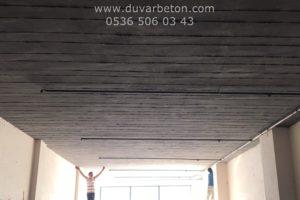 Ham Beton Duvar Dekorasyonları