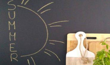 Kara tahta duvar boyası