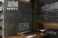 Duvarlarda beton etkisi